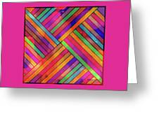 Diagonal Offset Greeting Card