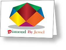 Diamond Art Greeting Card