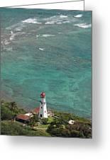 Diamond Head Lighthouse 3 Greeting Card