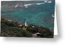 Diamond Head Lighthouse I Greeting Card