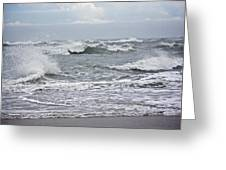 Diamond Shoals - Outer Banks Nc Greeting Card