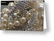 Diamonds And Pearls 2 Greeting Card