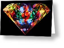 Diamonds Everywhere Greeting Card