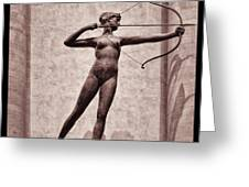 Diana - Goddess Of Hunt Greeting Card
