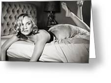 Diane Kruger Greeting Card