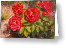 Diane's Roses Greeting Card