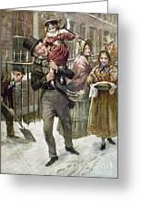 Dickens: A Christmas Carol Greeting Card
