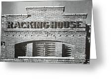 Dick's Brewery-historical Architecture  Greeting Card