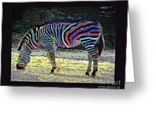 Differt Stripes For Different Types Greeting Card