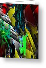 Digital Abstraction 070611 Greeting Card