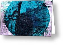 Digital Abstraction Greeting Card