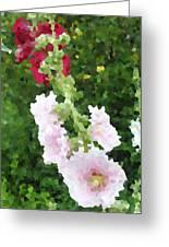 Digital Artwork 1390 Greeting Card