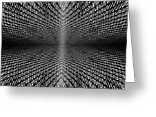 Digital Divide Vortex Greeting Card