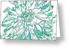 Digital Drawing 3 Greeting Card