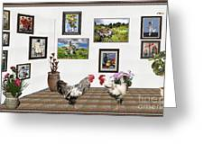 Digital Exhibition _ The World Is Narrow For Two Greeting Card