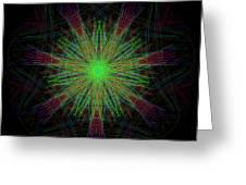 Digital Leaf Greeting Card