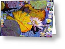 Digital Lilies Greeting Card