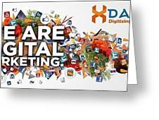 Digital Marketing Greeting Card