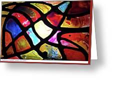 Digital_leaf Theme Greeting Card