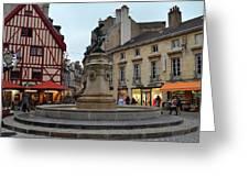 Dijon Fountain Greeting Card