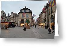 Dijon Street Corner Greeting Card
