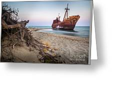 Dimitrios Shipwreck Greeting Card
