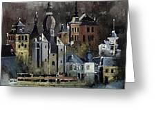 Dinant Watercolor Greeting Card