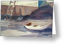 Dinghy Greeting Card