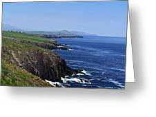 Dingle Coast Near Fahan Ireland Greeting Card