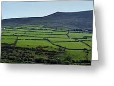 Dingle Peninsula Panorama Ireland Greeting Card
