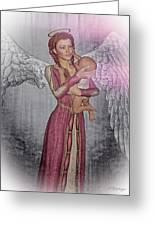 Diniel - Angel Who Protects Infants Greeting Card