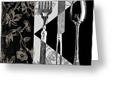 Dinner Conversation Greeting Card