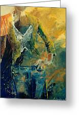 Dinner Jacket Greeting Card by Pol Ledent