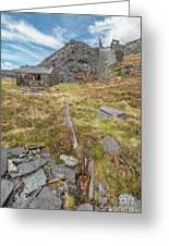 Dinorwic Quarry Ruins Greeting Card