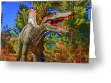 Dinosaur 12 Greeting Card