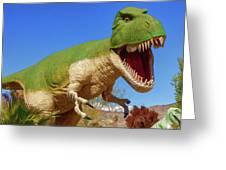 Dinosaur 5 Greeting Card