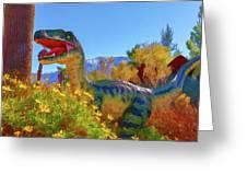 Dinosaur 7 Greeting Card