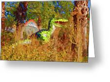 Dinosaur 9 Greeting Card