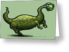 Dinosaur Greeting Card