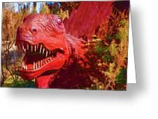 Dinosaurs 8 Greeting Card