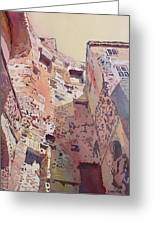 Diocletian Courtyard Greeting Card