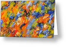 Diptych Part 2 Greeting Card
