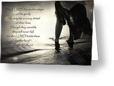 Directed Steps Greeting Card