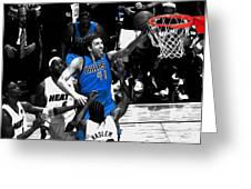 Dirk Nowitzki 3h Greeting Card