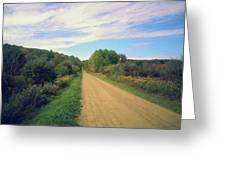 Dirt Road Life Greeting Card