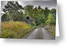 Dirt Roads Greeting Card