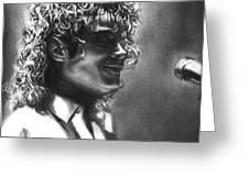 Dirty Diana Greeting Card by Carliss Mora