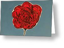 Dirty Rose Greeting Card