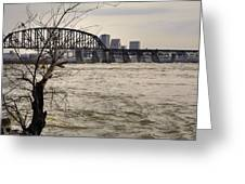 Dirty Water View Greeting Card