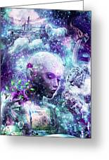 Discovering The Cosmic Consciousness Greeting Card